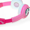 Hello Kitty Children's On-Ear Headphones - Hot Polka Dot: Image 4