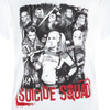 DC Comics Men's Suicide Squad Harley Quinn and Squad T-Shirt - White: Image 2