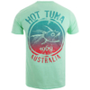 Hot Tuna Men's Colour Fish T-Shirt - Mint: Image 2