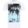 Hot Tuna Men's Life's A Beach T-Shirt - White: Image 1