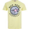Hot Tuna Men's Australia T-Shirt - Pale Yellow: Image 1