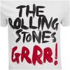 Rolling Stones Men's Logo GRRR! T-Shirt - White: Image 3