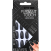 Elegant Touch Trend After Dark Nails - Grey Metallic/Tipped Stiletto/Silver Lining: Image 1
