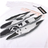 Halloween Men's Slashed T-Shirt - White: Image 3