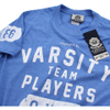 Varsity Team Players Men's Gym T-Shirt - Heather Royal: Image 4