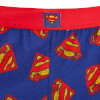 DC Comics Superman Men's Logo Lounge Pants - Blue: Image 3