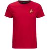Star Trek Men's Command Uniform T-Shirt - Red: Image 1
