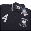 Varsity Team Players Men's College Polo Shirt - Navy/White: Image 2