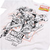Marvel Men's Band of Heroes T-Shirt - White: Image 2