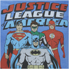 DC Comics Men's Justice League T-Shirt - Heather Royal: Image 6