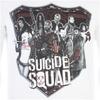 DC Comics Men's Suicide Squad Sheild T-Shirt - White: Image 4