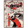 DC Comics Harley Quinn Small Tin Sign 15cm x 21cm: Image 1