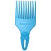 Denman D17 Curl Tamer Comb - Blue: Image 1