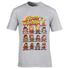 Capcom Street Fighter Men's Street Fighter II T-Shirt - Grey: Image 1