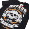 No Fear Men's Skull Chain T-Shirt - Black: Image 2