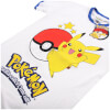 Pokemon Men's Pikachu Ringer T-Shirt - White/Royal: Image 4