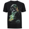 Star Wars Rogue One Men's Rainbow Effect Darth Vader T-Shirt - Black: Image 1