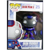 Funko Iron Patriot Metallic (Hot Topic Exclusive) Pop! Vinyl: Image 1
