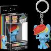Funko Rainbow Dash Keychain Pop! Keychain: Image 1