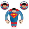 DC Comics Superman Wood Figure: Image 1