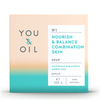 You & Oil Nourish & Balance Soap for Combination Skin 100g: Image 1