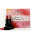 Living Nature Colour Me Romantic Lipstick Set - 3 Different Shades of Pink: Image 1