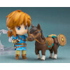 The Legend of Zelda Breath of the Wild Nendoroid Link Figure Deluxe Edition: Image 2