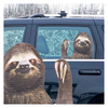 Ride With Car Stickers - Sloth: Image 1