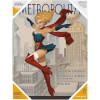 DC Comics Bombshells Glass Poster - Supergirl (30 x 40cm): Image 1