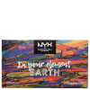 NYX Professional Makeup In Your Element Shadow Palette - Earth: Image 2