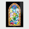 Nintendo Legend of Zelda Sword Chromalux High Gloss Metal Poster: Image 1