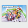 Nintendo Mario Kart 2 Chromalux High Gloss Metal Poster: Image 1