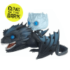 Game of Thrones Night King & Icy Viserion GITD Pop! Vinyl Ride: Image 1