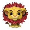 The Lion King Simba Flocked EXC Pop! Vinyl Figure: Image 1