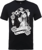 The Nightmare Before Christmas Jack Skellington And Sally Black T-Shirt: Image 1