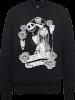 The Nightmare Before Christmas Jack Skellington And Sally Black Sweatshirt: Image 1