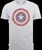 Marvel Avengers Assemble Captain America Super Soldier T-Shirt - Grey: Image 1