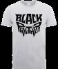 Black Panther Emblem T-Shirt - Grey: Image 1