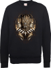 Black Panther Gold Erik Sweatshirt - Black: Image 1