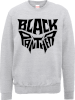 Black Panther Emblem Sweatshirt - Grey: Image 1