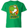 Nintendo Super Mario Yoshi Kanji Kids' T-Shirt - Kelly Green: Image 1