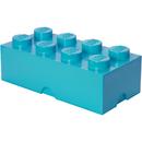 LEGO Storage Brick 8 - Medium Azur