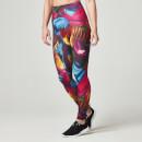 Myprotein 女子运动打底紧身裤 – 迷幻彩色印花图案