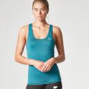 Myprotein 女子工字健身运动背心 - 蓝绿色