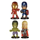 Marvel Avengers Age of Ultron Bobble Head Action Figure Set