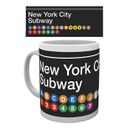 New York Subway Map - Mug