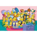 The Simpsons Sofa Cast - 24 x 36 Inches Maxi Poster