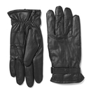 Barbour Men's Burnished Leather Thinsulate Gloves - Black