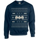 DC Originals Christmas Batman Sweatshirt - Navy