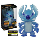 Lilo and Stitch Blue Glitter Stitch Hikari Sofubi Vinyl Figure